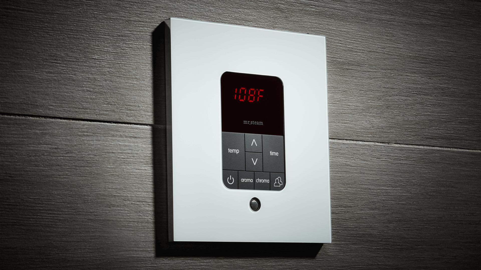 itempoplus residential steam shower control mrsteam Block Diagram
