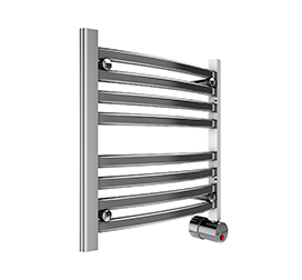 Broadway Towel Warmer W219 In Polished Chrome