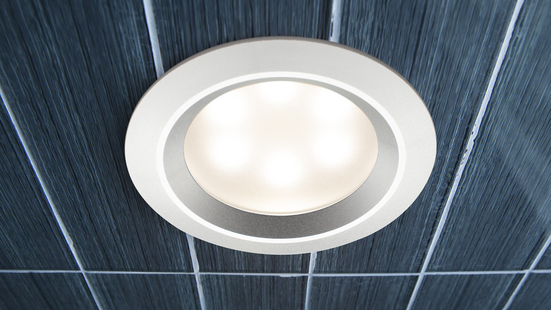 Recessed Led Light Heat And Moisture Resistant Mrsteam